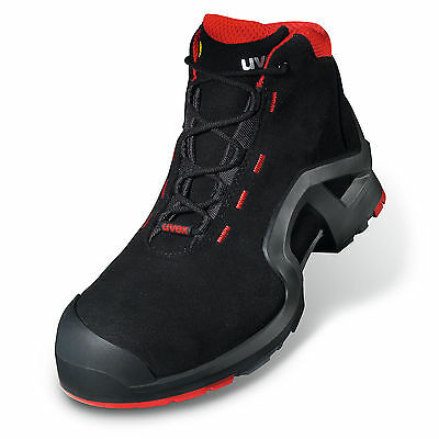 uvex Safety Boots 100% Metal-Free Airport Safe ESD Rated S3 composite midsole