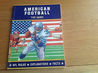 American Football Book The Game 1986