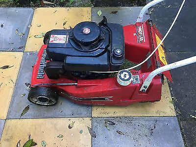 "16"" Mountfield Empress Roller Rotary Push Mower with grass box"