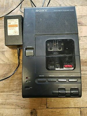 Sony Microcassette Transcriber M-2000 with AC Power Adapter