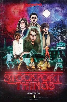 Blossoms- RARE Promo Artwork Poster- Stockport Things