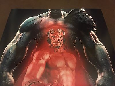 Ron Pearlman - Hellboy Genuine Signed Autograph