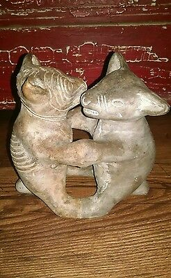Pottery Dancing Colima Dogs