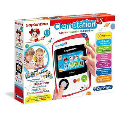 Clem Station 4.0 Versione 2016 Clementoni 13038 Tablet