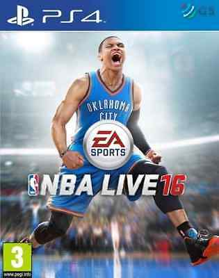 NEW SEALED 2016 NBA Live 16 Sony PlayStation PS4 Game Basket Ball GAMEFACE HD