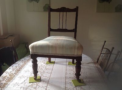 Stunning Antique Victorian/Edwardian Nursing Bedroom Hall Chair Lovely Chair