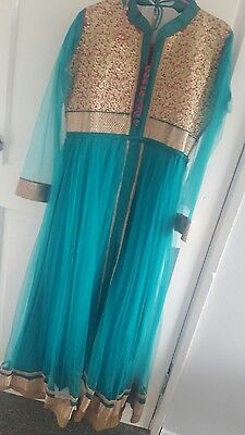 Indian bollywood partywear net anarkali churidar anarkali dress