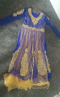 bollywood indian partywear churidar net anarkali eid dress NEW