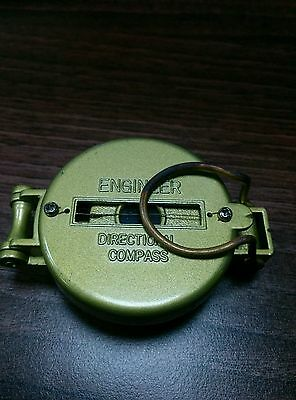 Lensatic Compass - Engineer Directional - Ideal Hiking / Survival - New - 453