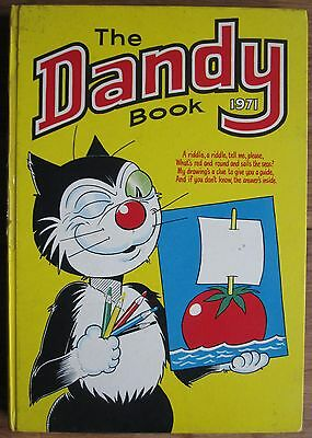 Dandy Book Annual 1971. Very Good Condition.