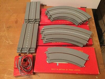 TRIANG Minic Motorway Mint Refurbished Track Lot Boxed