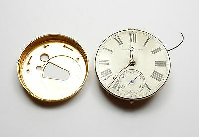 Antique pocket watch movement spares or repair
