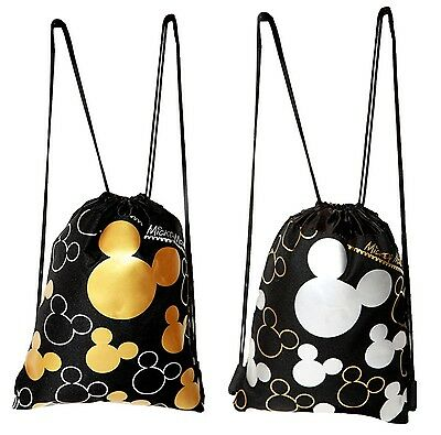 Disney Mickey Mouse Drawstring Backpack 2 Pack