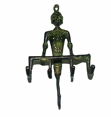 An Attractive beautiful BRASS MADE WOMAN Designed COAT HOOK  from India