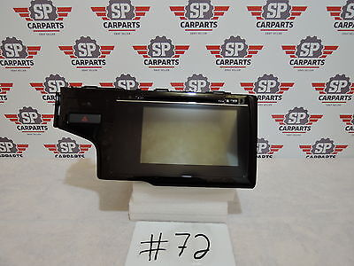Honda Fit 2015 2016 Radio cd player GPS touch screen 39100-T5R-C12