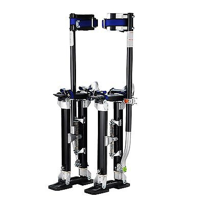 "Pentagon Tools 18"" - 30"" Drywall Stilts Black"