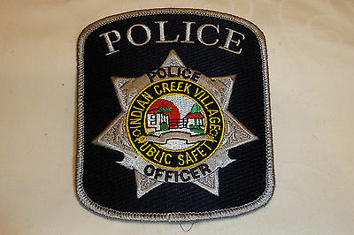 INDIAN CREEK VILLAGE OFFICER FLORIDA Police Patch Sheriff Dept Polizei Abzeichen