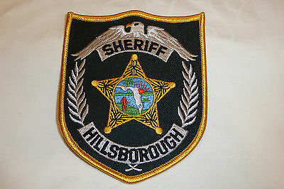 HILLSBOROUGH COUNTY FLORIDA Police Patch Sheriff Dept Polizei Abzeichen