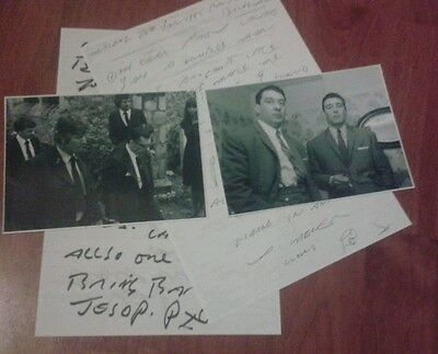 Ronnie Kray Prison Letters & Signed Pictures. The Krays. Gangster. Legend. Crime