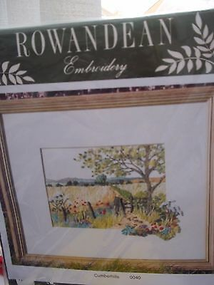 embroidery kit +Painting by stitches new