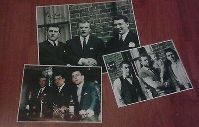 The Krays. Signed Pictures. The Kray Brothers. Firm. Gangsters. Legend. Crime.