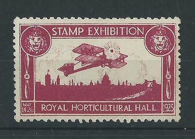 GB - 1920? Stamp Exhibition - Royal Horticultural Hall