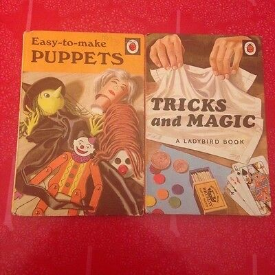 Vintage Ladybird Books Series 633 Tricks and Magic, Puppets