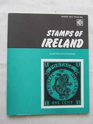 Stamps Of Ireland Illustrated Catalogue 1972, Excellent Condition