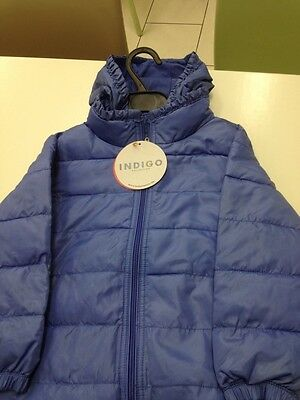 BNWT M&S Girls 3 Stars Thermal Warmth Hooded Coats Size 5/6