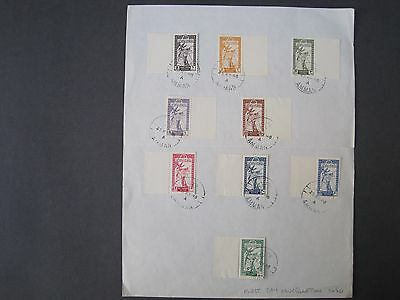 Transjordan 1946 First Day Issues. 2 sets Amman cancel May 1946. King Abdullah