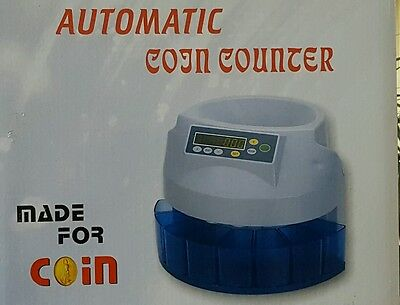 UK Coin Counter In Full Working Order..