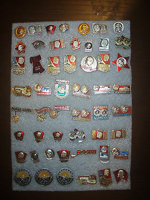 52  Badges USSR (Russia) Lenin different № 11