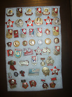 48  Badges USSR (Russia) Lenin different № 30
