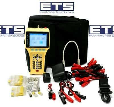 JDSU Test-Um Validator NT900 LAN Ethernet Cable Tester Kit w/ #1 Wiremap Remote
