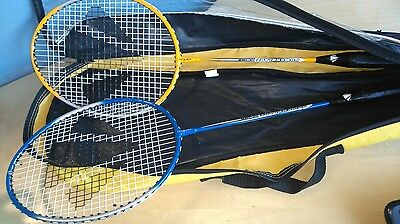 Badminton Raquets And Cover