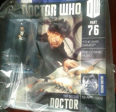 Dr Who Figurine Collection 2nd Doctor