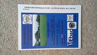 Thornaby v. Alnwick Town 9/9/14 Northern League Division 2