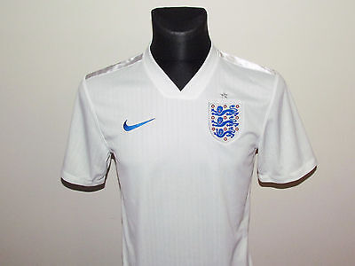 Nike New Jersey England Home Shirt 2014-16 Size S