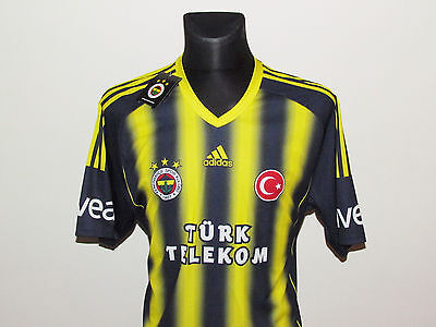 Adidas New Jersey Fenerbahce Home Shirts 2013-14 Size XL