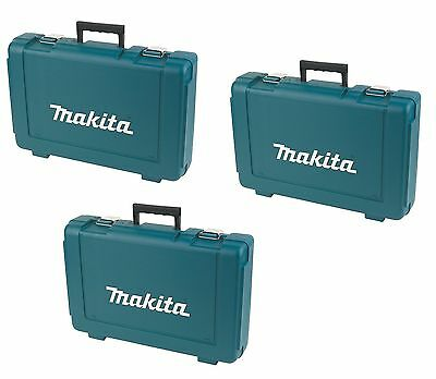 x3 Makita 807317-0 Plastic Heavy Duty Carry Case For 8391 8391DWPE - ORIGINIAL