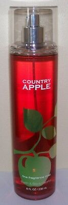 Bath & Body Works Country Apple Fine Frag. Mist F/size Delicious Apple Scent!