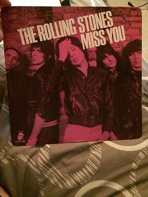 """The Rolling Stones Miss You 12"""" Vinyl"""