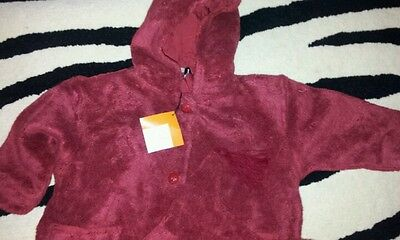 Ducky Beau Girls Fur Fabric   Jacket Age 3