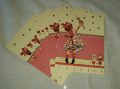 48 PACKS X DESIGNER RETRO STYLE PARTY INVITATIONS WITH ENVELOPES    Tululah