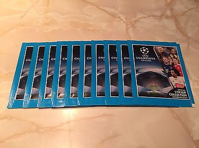 10 Sealed Topps UEFA Champions League 2016/17 Sticker Packets