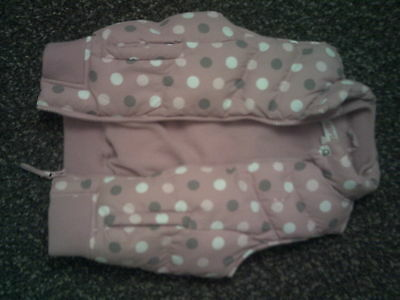 girls girl 2 girl pink with spots bomber jacket.age 4 to 5 years.height 110cm