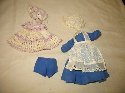 Vintage Vogue Ginny Doll Dutch Outfit & Crochet Dress