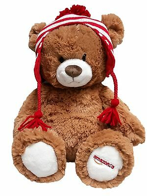 Gund Amazon 2015 Annual Collectible Bear Brown/Red
