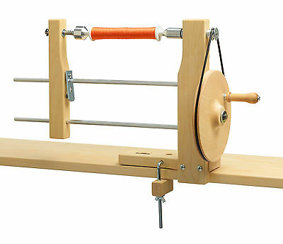 Schacht Bobbin Winder-Manual Double Ended. Wind Pirns, spools or bobbins
