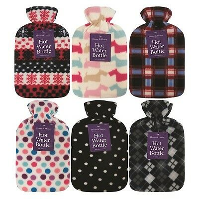 NEW 2L Hot Water Bottle With Soft cover